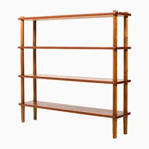 Danish Teak and Oak Display Shelf from Bovirke, 1950s