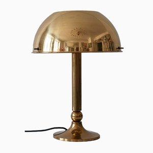 Messing Tischlampe von Florian Schulz, 1970er
