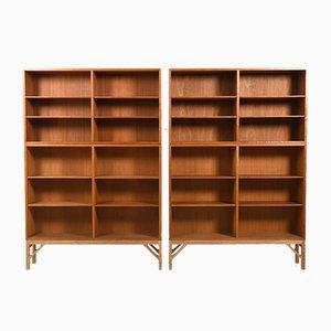 Model 152 Shelves by Børge Mogensen for FDB, 1960s, Set of 2