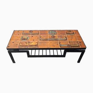 Table Basse en Céramique, 1950s