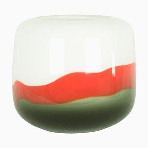 Vaso in vetro di Murano attribuito a Salviati, anni '60