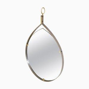 Mid-Century Teardrop Mirror