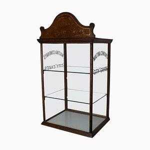 Mahogany Cadbury's Chocolate Shop Display Cabinet, 1900s
