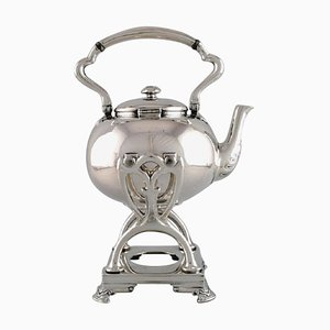 Swing Kettle with A Stand in Sterling Silver from Tiffany & Co.