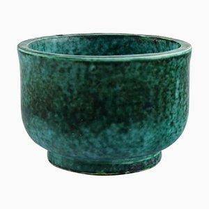 Bowl in Glazed Ceramics by Wilhelm Kage for Gustavsberg, 1950s