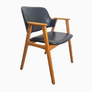 Vintage Buchenholz Stuhl von Cees Braakman für Pastoe, 1960er