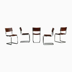 Model S40 Outdoor Cantilever Stackable Chair from Thonet