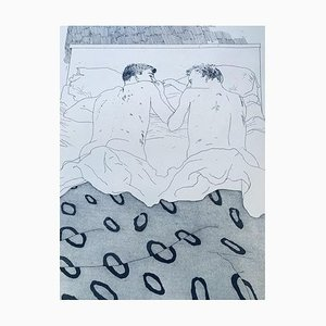 Poster 23 o 24 anni di David Hockney
