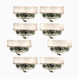 Handgeblasene Wand- oder Deckenlampen von Doria, 1970er