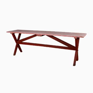 English Painted Tavern Table