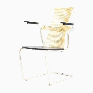 Swedish Wire Back Armchair, 1960s