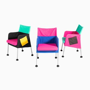Puzzle Armchairs by Eero Aarnio for Adelta, Set of 3