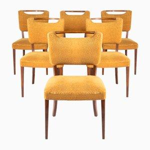 Mid-Century Chairs from Slagelse Mobelvaerk, Denmark, Set of 6