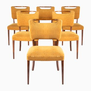 Mid-Century Stühle von Slagelse Mobelvaerk, Dänemark, 6er Set