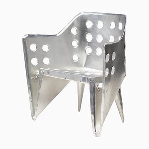 Aluminum Chair by Gerrit Thomas Rietveld
