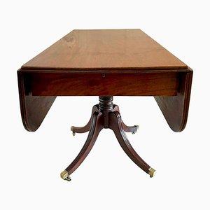 Pembroke Tisch aus Mahagoni, 19. Jh