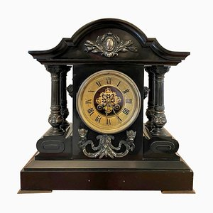 French Marble Eight-Day Mantel Clock