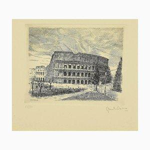 Giuseppe Malandrino - Colosseum - Original Radierung - 1970er Jahre