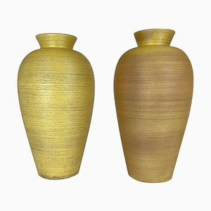 Floor Vases by Upsala Ekeby, Sweden, 1940s, Set of 2
