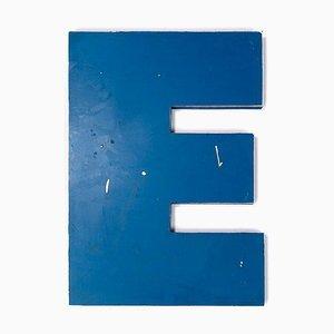 Letter E Sign