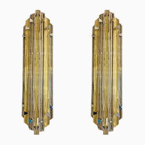 Murano Glass Sconces from Verre de Murano, 1980s, Set of 2