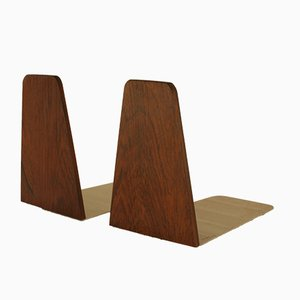 Vintage Danish Rosewood Bookends by Kai Kristiansen for FM, 1960s