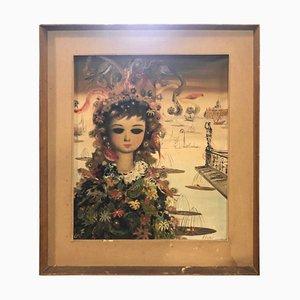 A. Lioton, Impressionistische Französische Malerei, Öl auf Leinwand, 1970er