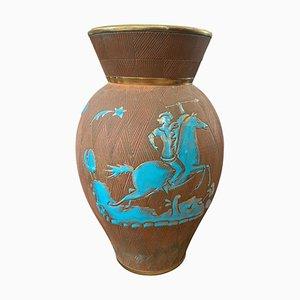 Mid-Century Modern Italian Ceramic Vase from Fantechi, 1950s