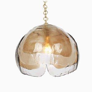 German Murano Glass Ceiling Lamp by Kalmar for Kaiser Idell / Kaiser Leuchten, 1960s