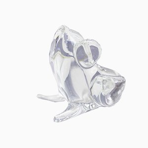 Vintage Crystal Frog by L. Zanetti