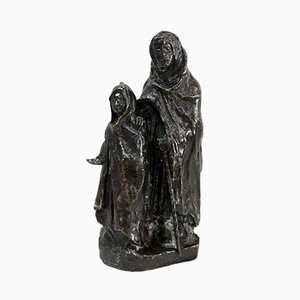 B. Girardet, Bronze, The Child and the Blind