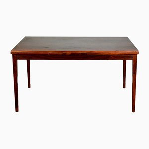 Mid-Century Danish Extendable Rosewood Dining Table from Clausen & Søn
