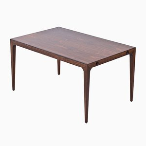 Danish Rosewood Dining Table by Poul Hundevad & Kai Winding for Hundevad & Co., 1950s