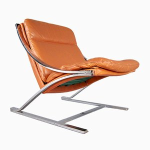 Zeta Lounge Chair by Paul Tuttle for Strässle, 1960s