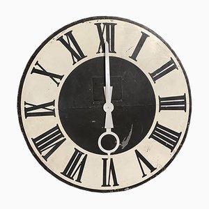 Facciata da orologio grande antica, Francia