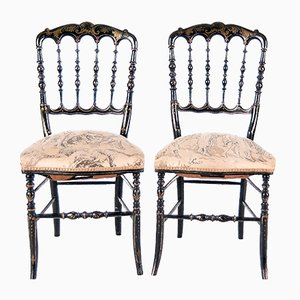 Sedie Napoleone III, set di 2