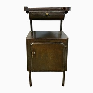 Industrial Hospital Nightstand / Cabinet, 1950s
