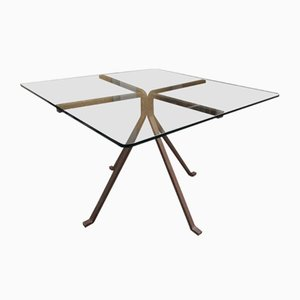 Square Model Cousin Dining Table by Enzo Mari for Driade, 1980s