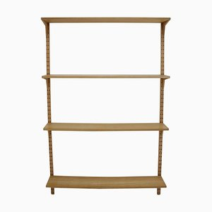 Danish Oak Shelving System, 1960s