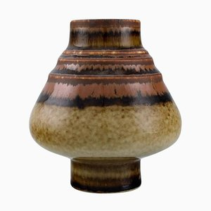 Vase in Glazed Ceramics by Gösta Andersson for Rörstrand, Mid-20th Century