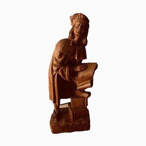 Figurine en Bois, 15ème Siècle
