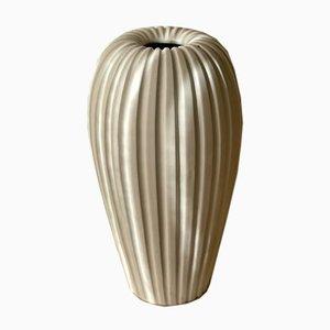 Large Stoneware Vase by Vicke Lindstrand for Upsala Ekeby, 1950s