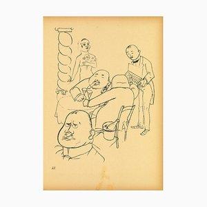 George Grosz - Esplanade from Ecce Homo - Lithograph - 1923