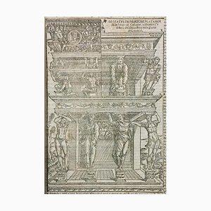 Vitruvius - Vitruve, Architecture - Livre Illustré - 1536