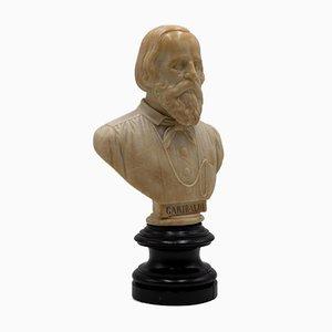 Unknown - Portrait of Giuseppe Garibaldi - Original Marmorskulptur - Spätes 19. Jahrhundert