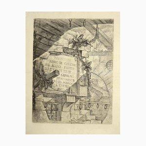 Giovanni Battista Piranesi - Prison Invention - Etching - 1749/59
