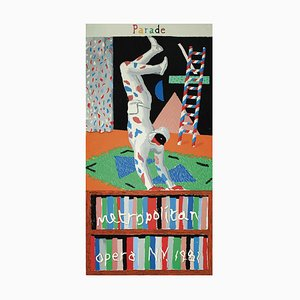 David Hockney - Parade - Screenprinted Poster - 1981