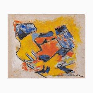 Giorgio Lo Fermo - Orange and Yellow - Oil Painting - 2020