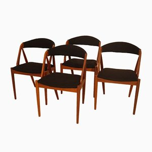 Scandinavian Chairs by Kai Kristiansen, 1960s, Set of 4