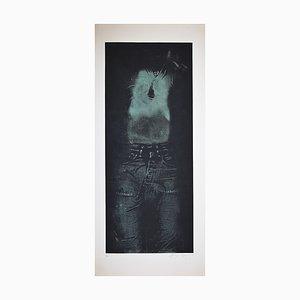George Segal - Man In Green Shirt - Etching - 1976